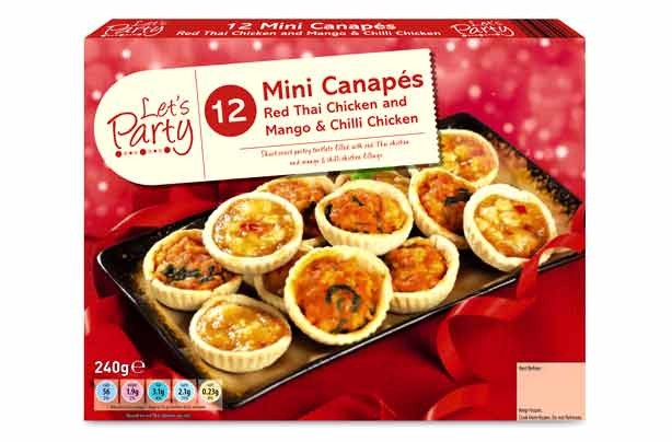 Christmas party food and drink deals 2013 dips and for Cheap canape ideas