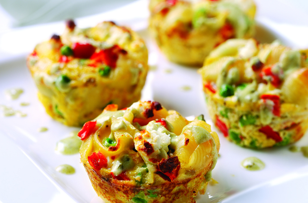 Cheesy Mini Vegetable Frittatas Recipes — Dishmaps