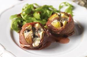 Parma-wrapped figs