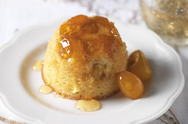 A warm and moist baked pudding. It is a little different using kumquat which gives it a tangy flavour. It is very easy to make and this recipe serves 6 people.