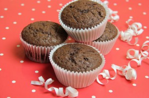 Speedy chocolate muffins