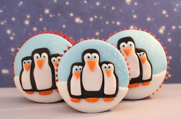 Penguin cupcakes recipe