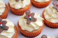 Victoria Threader's Gingerbread Cupcakes with Clementine Buttercream