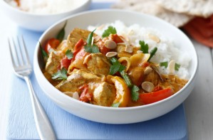 Turkey curry