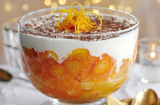 Slimming World's whisky orange trifle