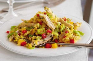 Slimming World's turkey risotto