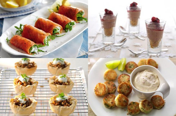 50 quick and easy canapes goodtoknow for Christmas canape ideas