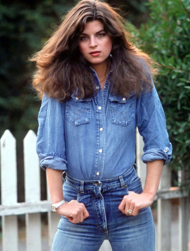 1991 Young Kirstie Alley Skinny