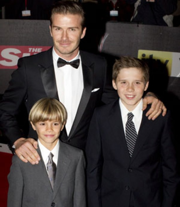 David Beckham, Romeo and Brooklyn