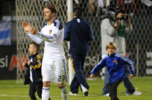 David Beckham, Romeo and Cruz
