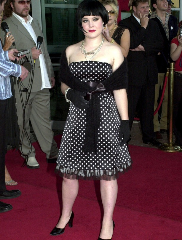 Kelly Osbourne's changing shape