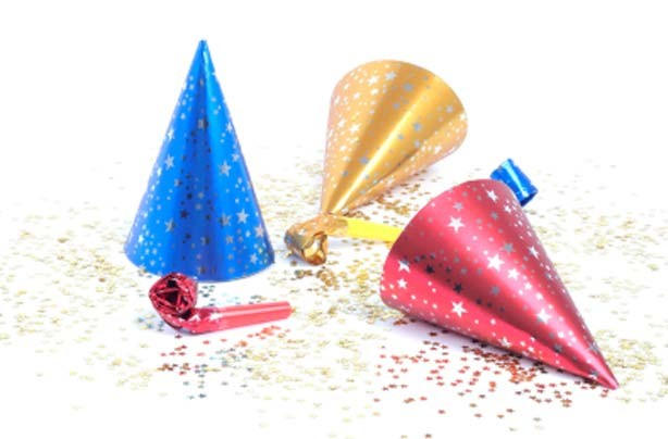 New Year's resolutions: Plan a children's party