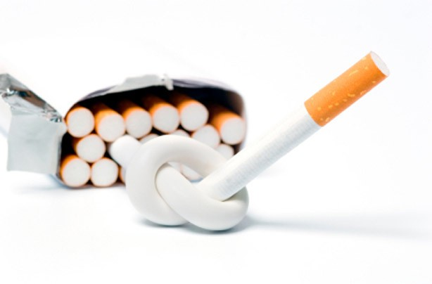 New Year's resolutions: Give up smoking