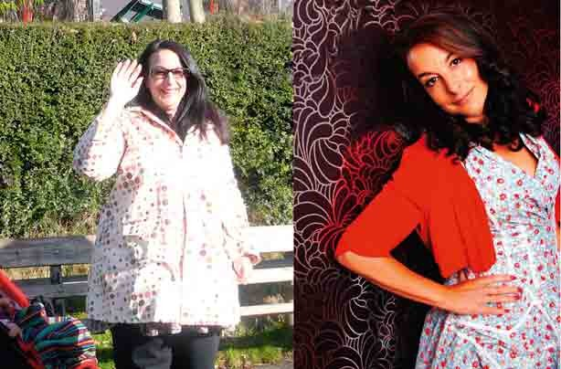 Before and after: Tamara Simmonds