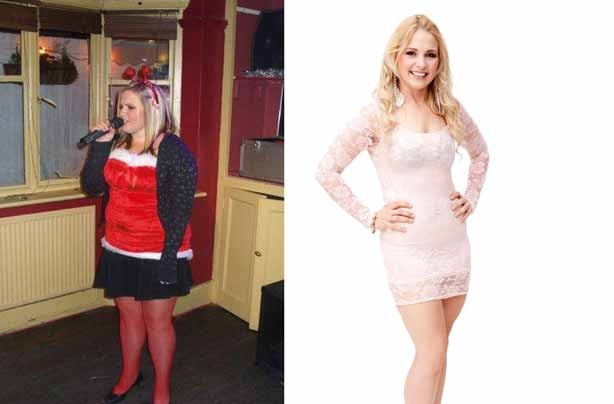 Before and after: Vicky Copsey