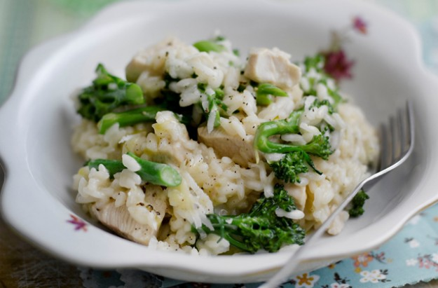 Chicken broccoli and rosemary risotto recipe goodtoknow for How do i make chicken risotto