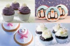 Winter cupcakes 