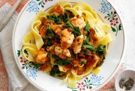 Slimming World's chicken pappardelle