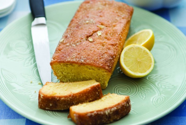 Rosemary Conley's lemon drizzle cake