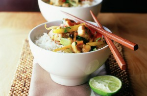 50 healthy family meals - Chicken and cashew stir-fry ...