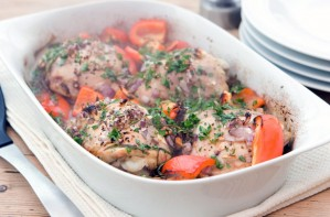 Rosemary Conley's balsamic roast chicken