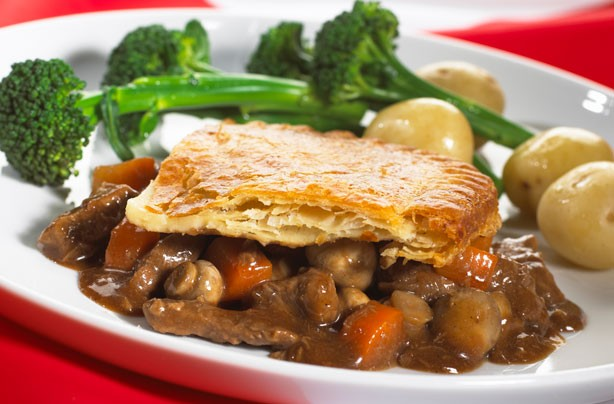 The Hairy Bikers' steak and ale pie recipe