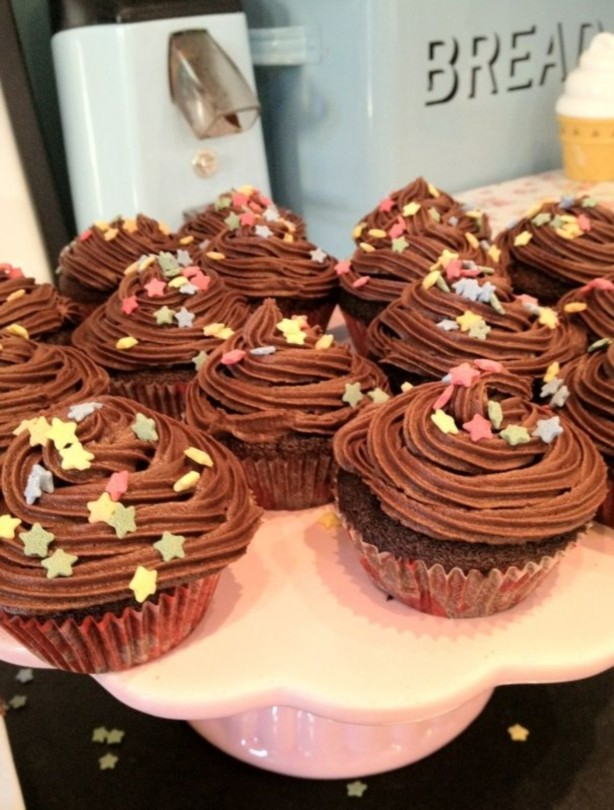 Fearne Cotton's cupcakes