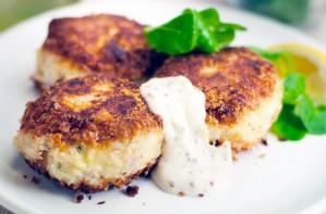 Smoked cod fishcakes