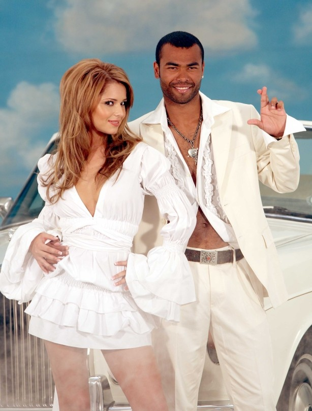 Cheryl and Ashley Cole for National Lottery