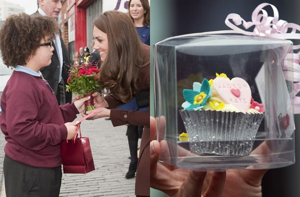 Kate Middleton cupcake