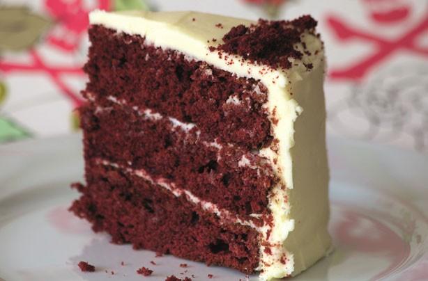 Romantic red velvet bakes for Valentine's Day - Red velvet layer cake ...