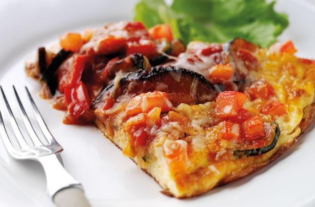 Annabel Karmel ratatouille omelette