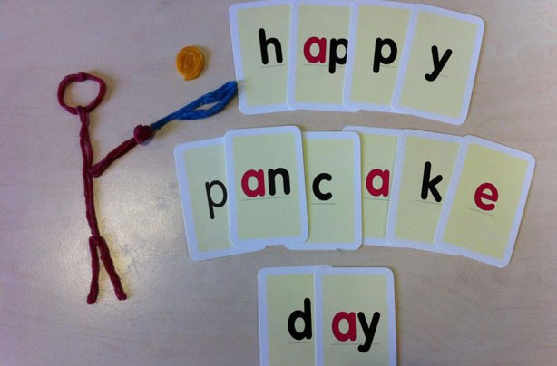 Your pancake flipping pictures