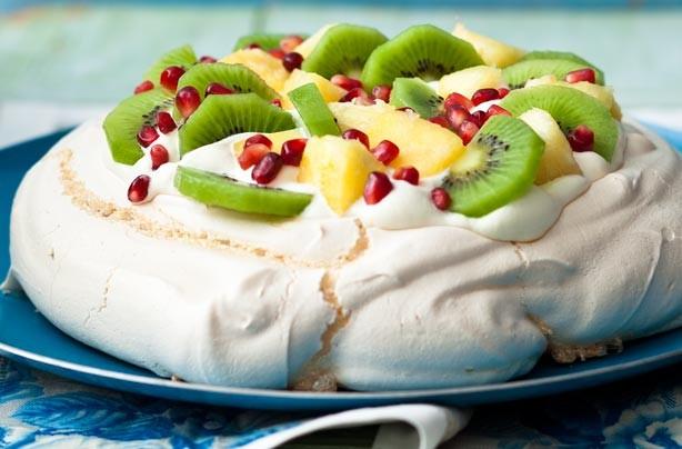 Summer dessert recipes: Tropical pavlova