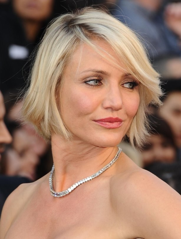 Short haircuts - Cameron Diaz