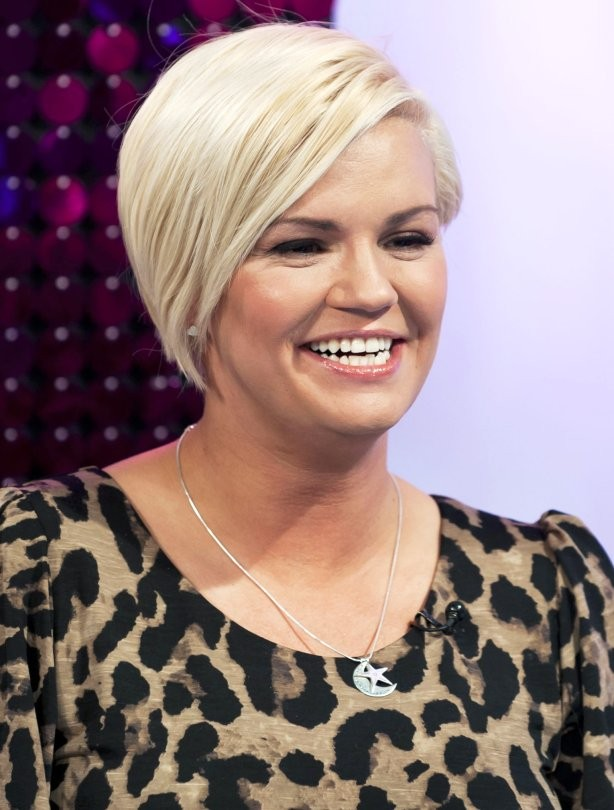 Short haircuts - Kerry Katona
