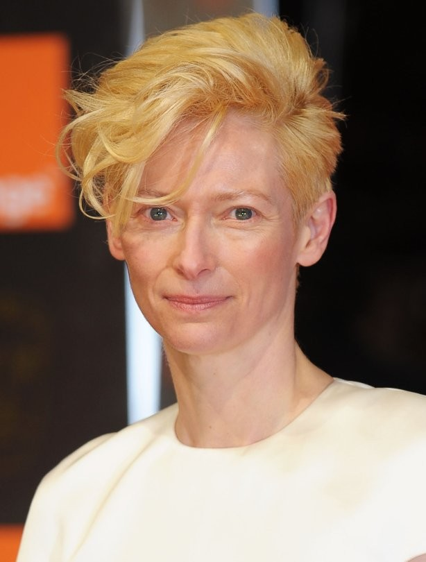 Short haircuts - Tilda Swinton