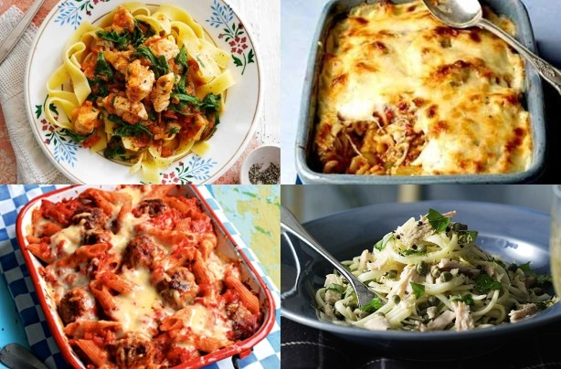 Top 20 pasta recipes for March 2012