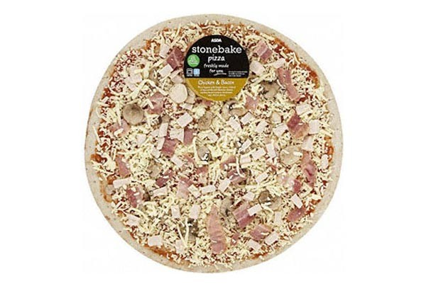Asda deep pan pizza
