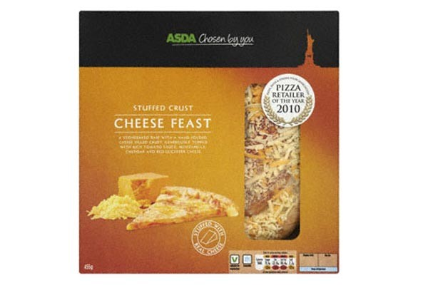 Asda stuffed crust cheese feast