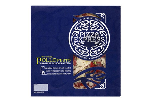 Sainsbury's pizza express pizza