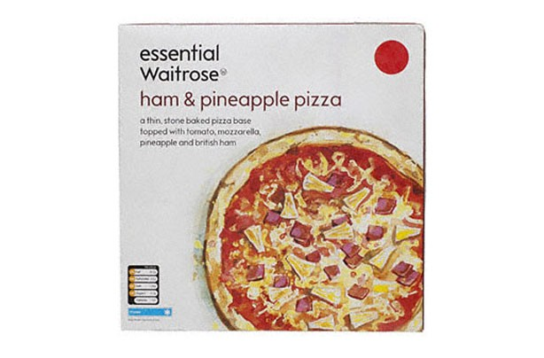 Waitrose pizza