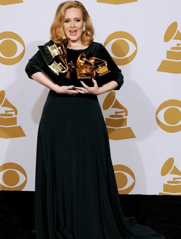 Adele: 12 February 2012