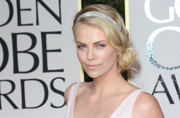 Charlize Theron at Golden Globes