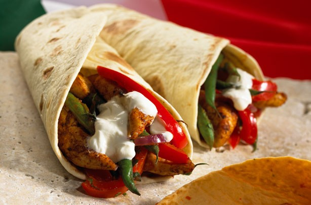Hairy Bikers' chicken fajitas