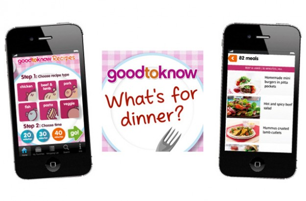 Whats for dinner recipes app