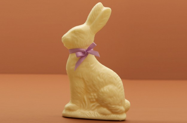 White chocolate rabbit