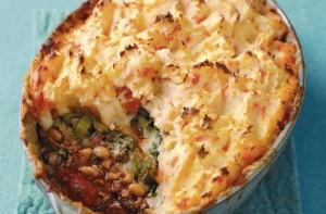 Meals under 400 calories - Mince, bean and mash pie ...