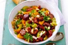 Chorizo and bean salad