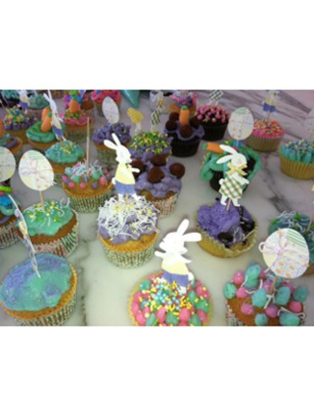 Victoria Beckham cupcakes